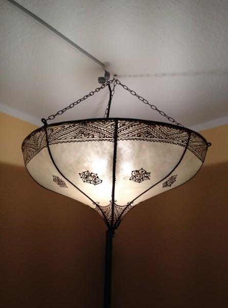 Deckenlampe Hennalampe Taghazout - Natur