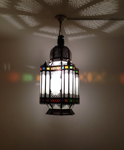 Orientalische Deckenlampe Deluxe Marrakesch XXL