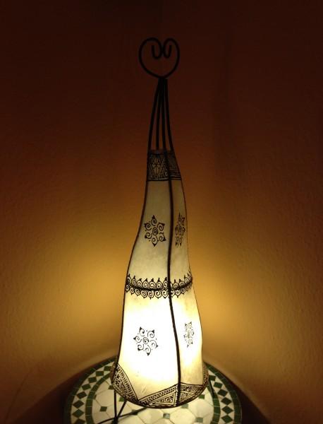 Stehlampe Hennalampe Braya Natur 100cm