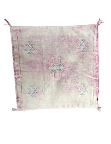 Kissenbezug Berber Casablanca Kelim Pink gewaschen