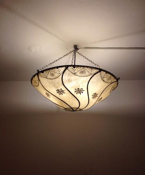 Deckenlampe Hennalampe Tetouan - Natur