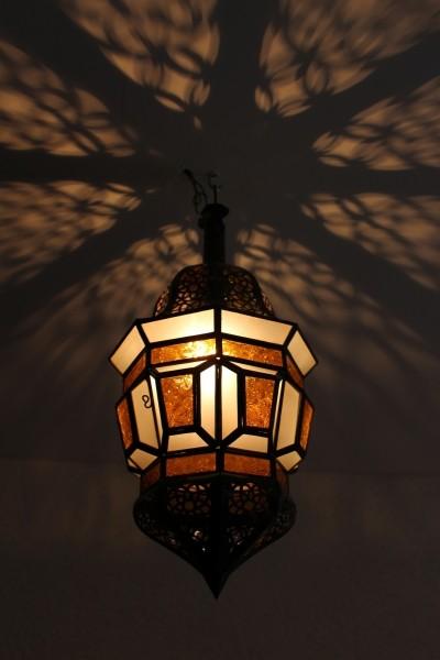 Deckenlampe Tanger Orange