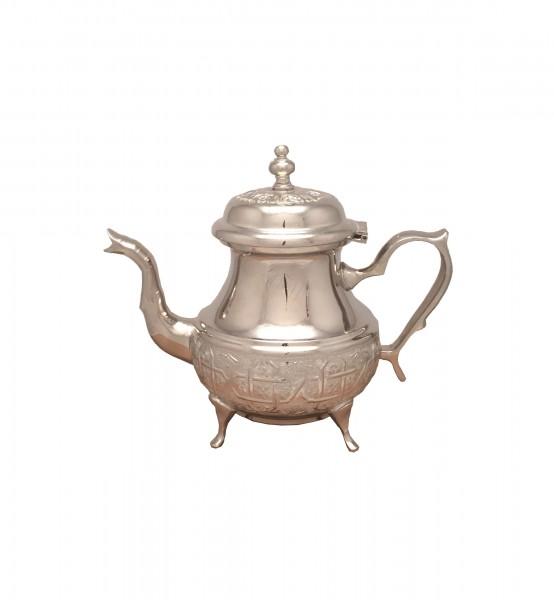 Marokkanische Teekanne Fes mit Beinen