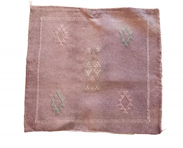 Orientalischer Kissenbezug Berber Hellila Balken Viereckig
