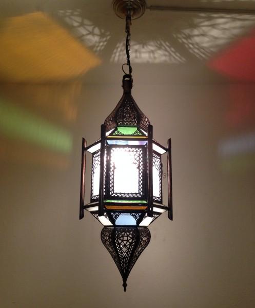 Orientalische Deckenlampe Marrakesch Swari 66cm