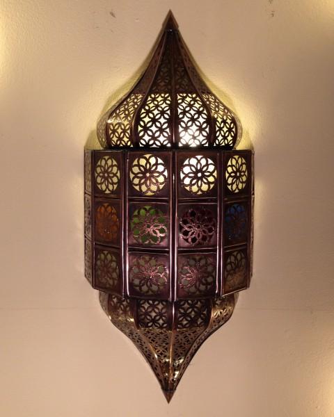 Orientalische Wandlampe Jawhara