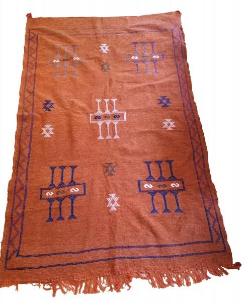 Orientalischer Berber Teppich Terracotta 2.35 x 1.50m