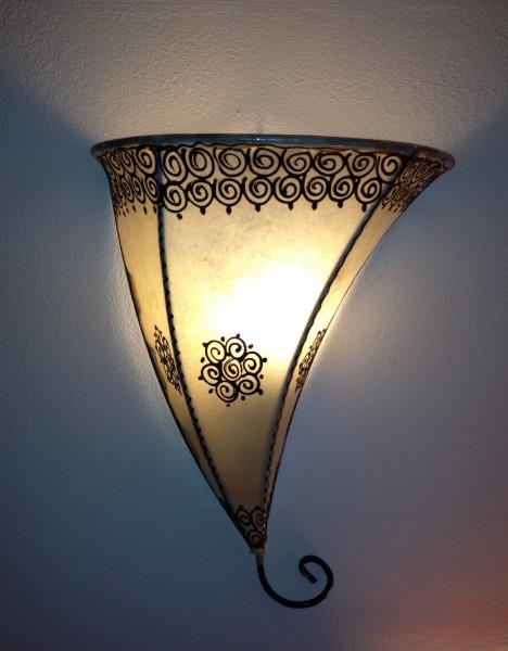 Orientalische Wandlampe Meknes -Natur