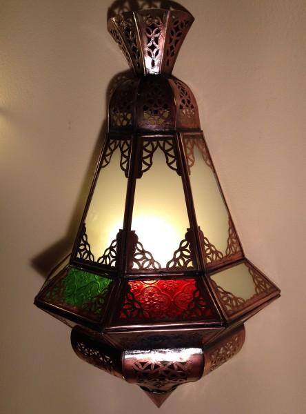 Orietalische Wandlampe Houta