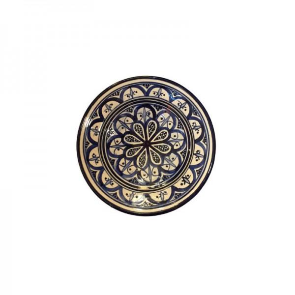 Orientalischer Keramikteller Blau Weiß S1_3092_800x800