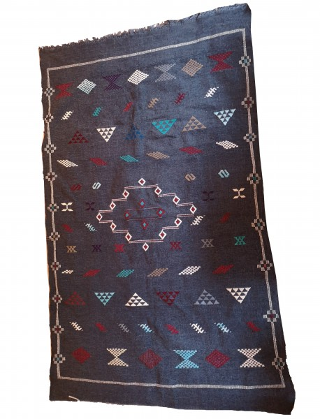 Orientalischer Berber Teppich Dunkelgrau 2.40 x 1.50m