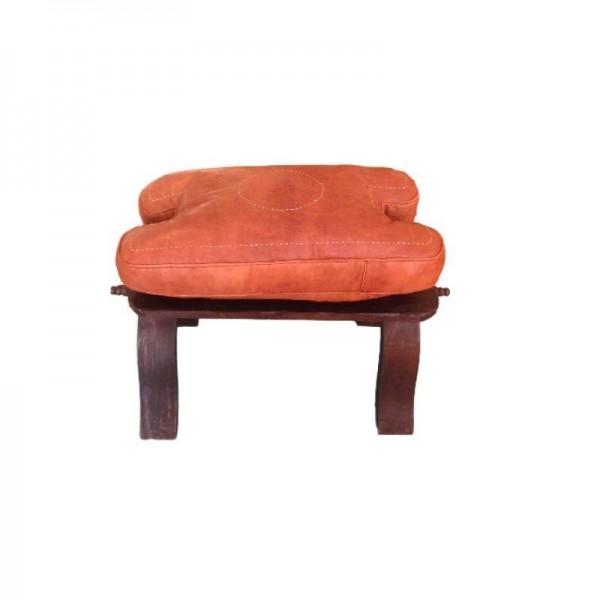 Orientalischer Marokkanische Sitzhocker Kamel Kreis