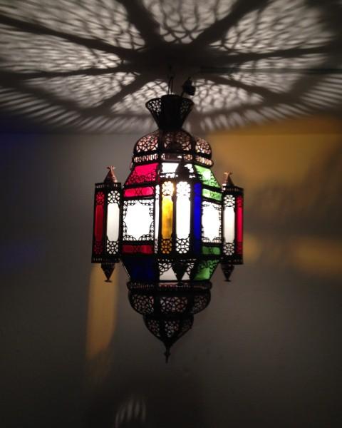 Orientalische Deckenlampe Marrakesch Oulidat