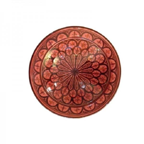 Orientalischer Teller Fes Bordeaux_ L_3100_800x800