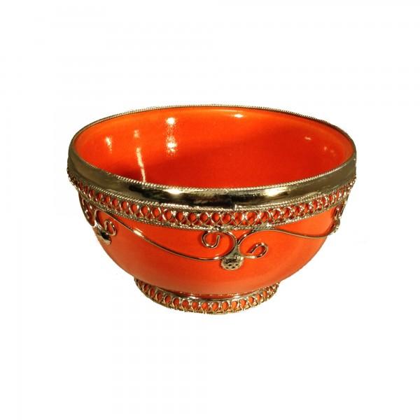 Dips Schale Bemalt Orientalische Marokkanische dips Tajine Bordeaux